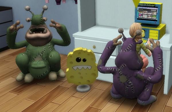 Simsworkshop: Monstrous Chair by BigUglyHag