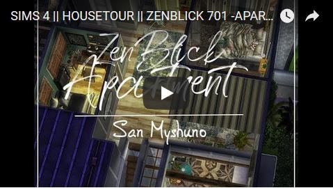 Ideassims4 art: Zenblick 701 Apartment