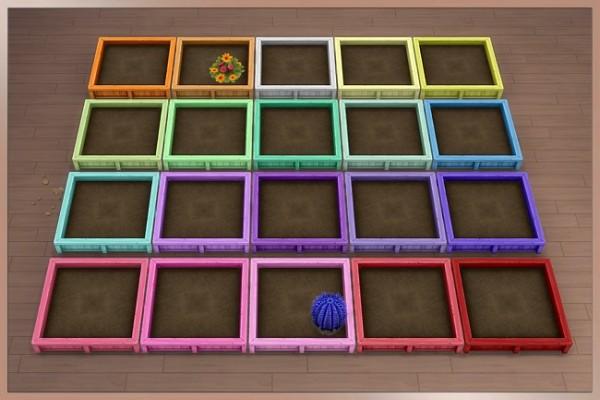 Blackys Sims 4 Zoo: Tao Plant box by Cappu