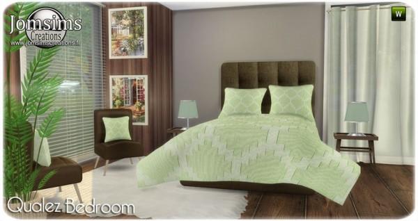 Jom Sims Creations: Qualez bedroom