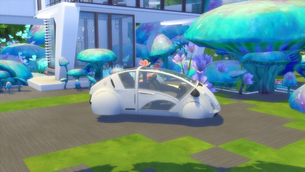 """Enure Sims: """"Welcome to the future"""" Vehicles"""