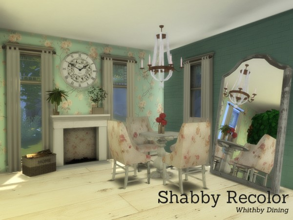 The Sims Resource: Shabby Chic Whithby Dining by Angela
