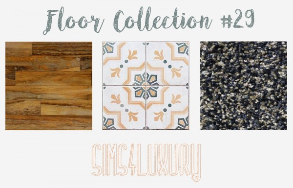 Sims4Luxury: Floors Collection 29