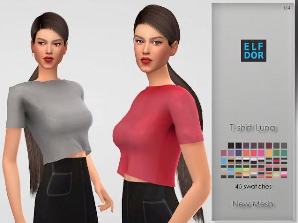 Elfdor: T shirt Luna