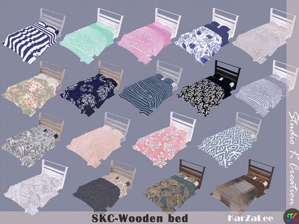 Studio K Creation: Wooden bed