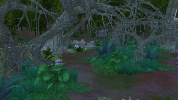 Enure Sims: Fantasy Forest Trees