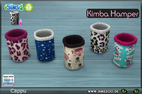 Blackys Sims 4 Zoo: Kimba Hamper cups by cappu