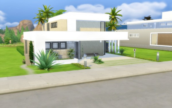 Via Sims: Modern house 42