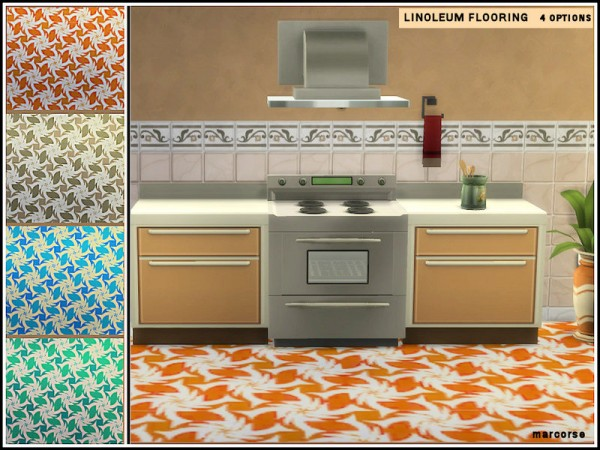 The Sims Resource: Linoleum Flooring by marcorse