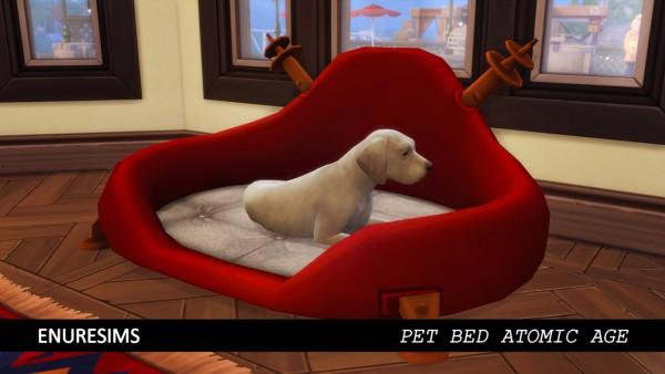 Enure Sims: Pet bed atomic age