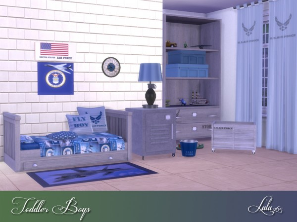 The Sims Resource: Toddler Boys Bedroom by Lulu265
