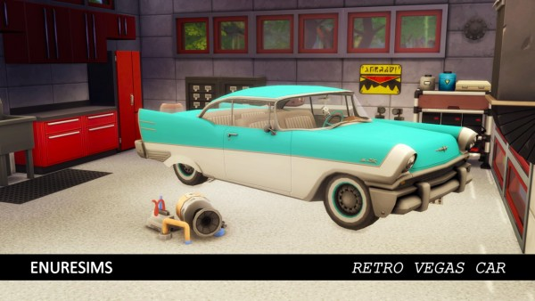 Enure Sims: Retro Vegas