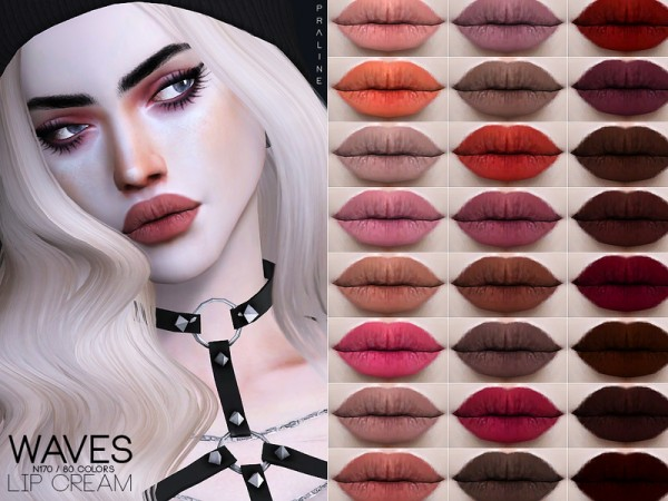 The Sims Resource: Waves Lipcream N170 by Pralinesims