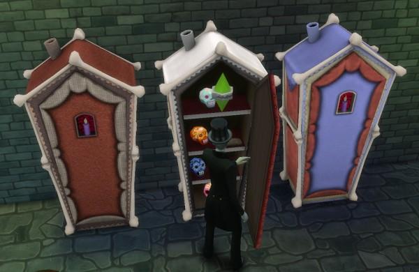 Simsworkshop: Haggys Birthday gift to you! Bonehildas Fridge by BigUglyHag