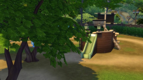 MSQ Sims: Realistic Trees (No Fade)