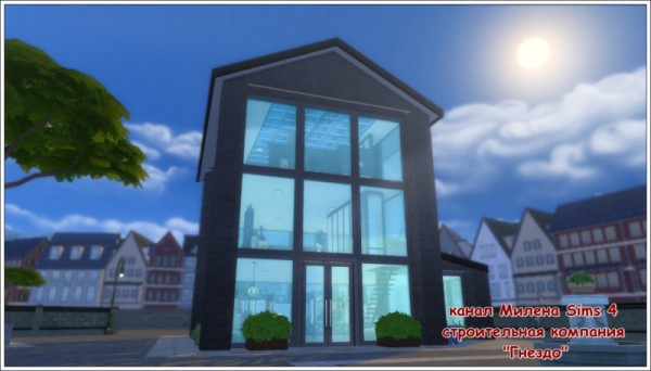 Sims 3 by Mulena: Shop Picture courtyard