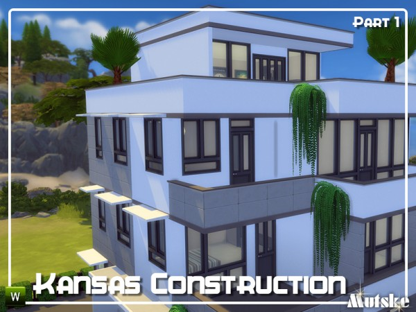 The Sims Resource: Kansas Constructionset Part 1 by mutske