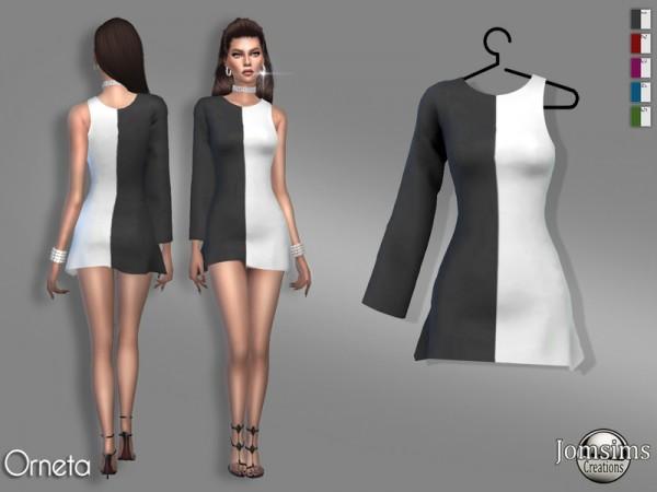 The Sims Resource: Orneta dress by jomsims