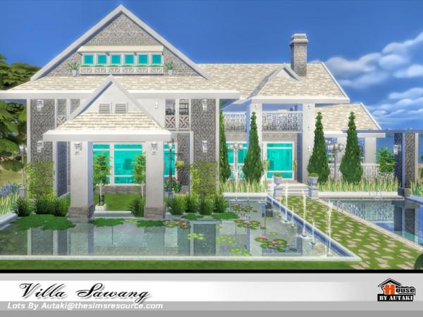 The Sims Resource: Villa Sawang by Autaki