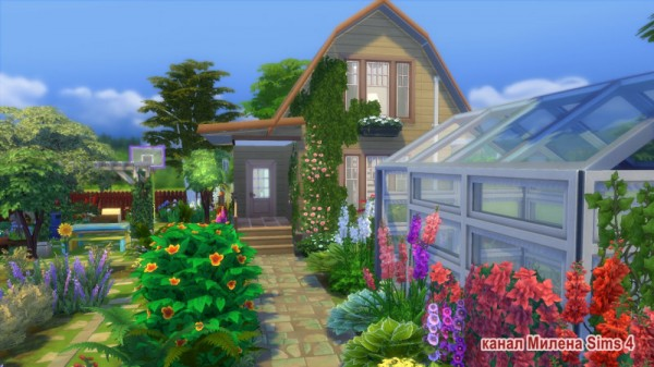 Sims 3 by Mulena: Garden house