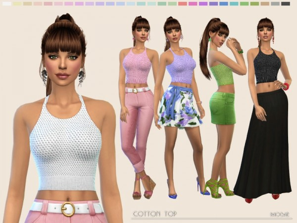 The Sims Resource: Cotton top by Paogae