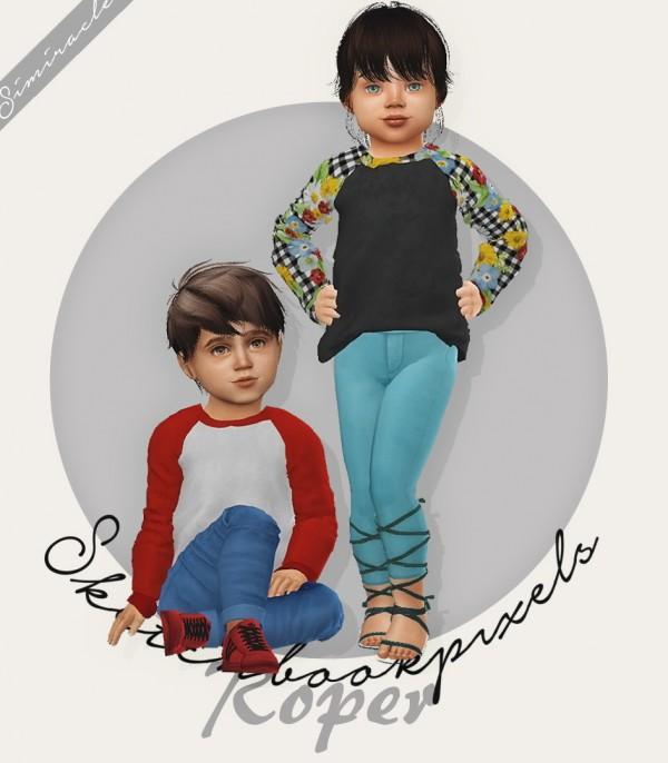 Simiracle: Roper shirt   Toddler Version