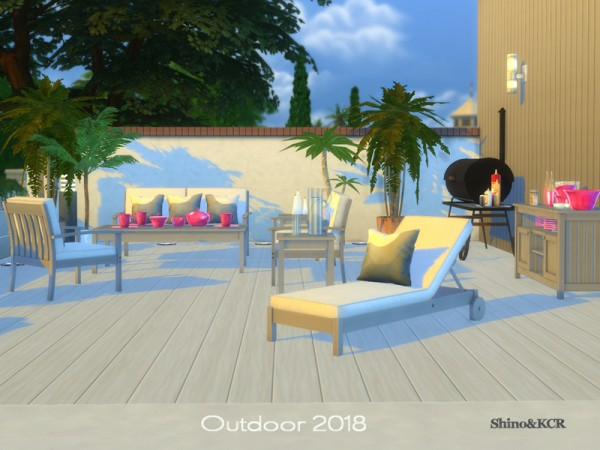 The Sims Resource: Outdoor 2018 by ShinoKCR