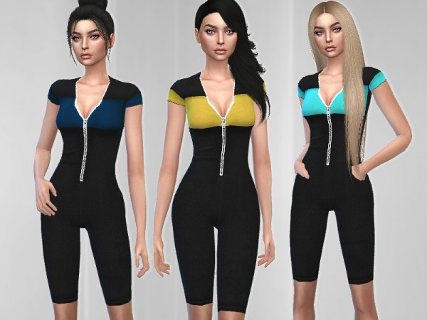 The Sims Resource: Nova Jumpsuit by Puresim