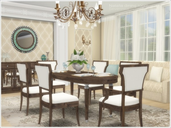 The Sims Resource: Natalia diningroom by Severinka