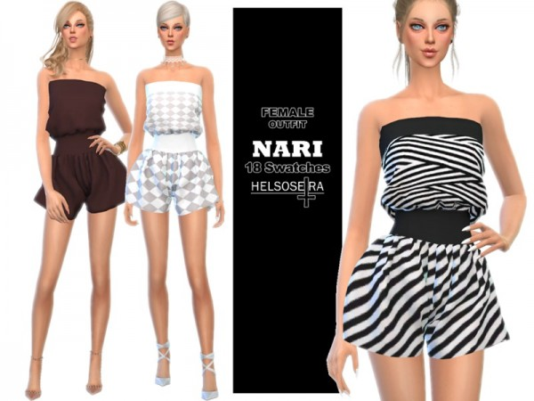 The Sims Resource: NARI   Summer Outfit by Helsoseira