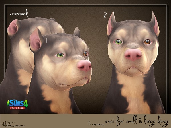 The Sims Resource: Dog Ears by MahoCreations