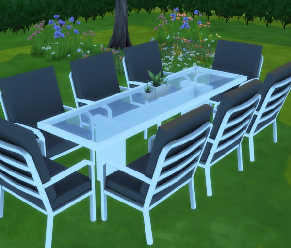 Simista: Marquee Outdoor Setting