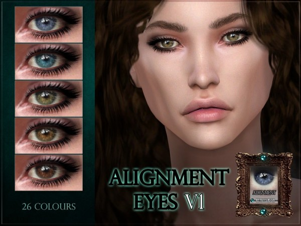 The Sims Resource: Alignment Eyes   V1 by RemusSirion