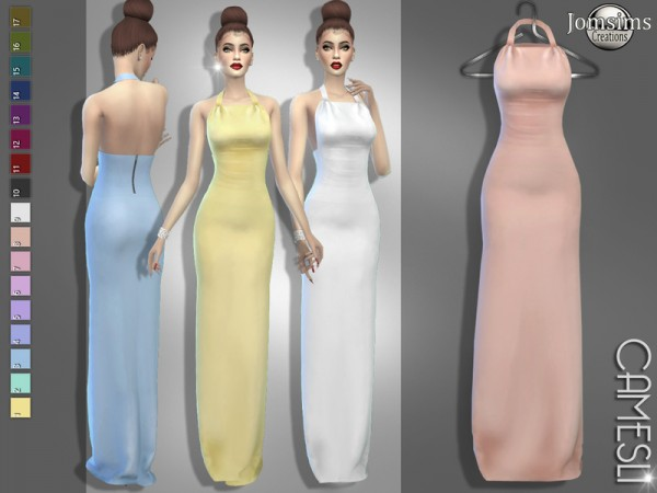 The Sims Resource: Camesli dress by jomsims