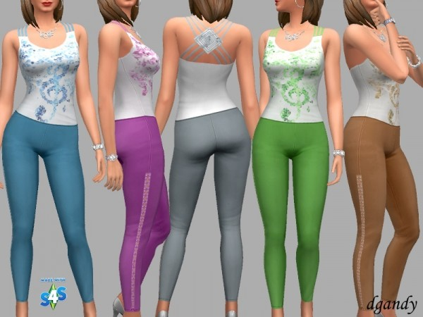 The Sims Resource: Everyday   Mollie outfit by dgandy