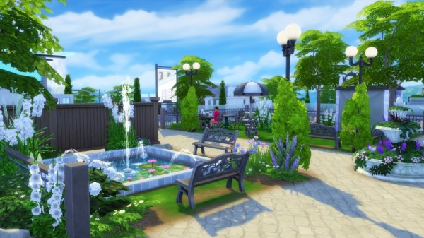 Sims Artists: Windenburg Gardens