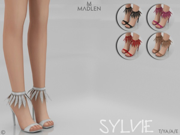 The Sims Resource: Madlen Sylvie Shoes by MJ95