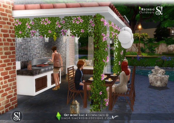 SIMcredible Designs: Recreio outdoor