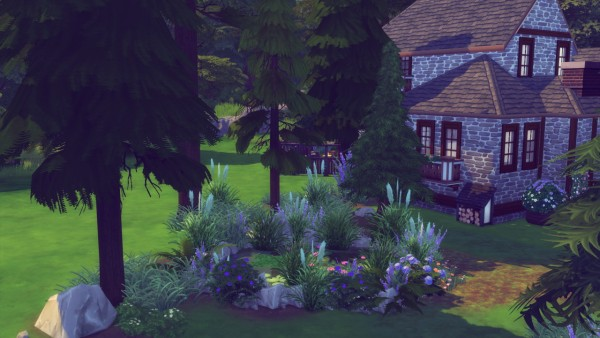 Simming With Mary: Pine wood cottage