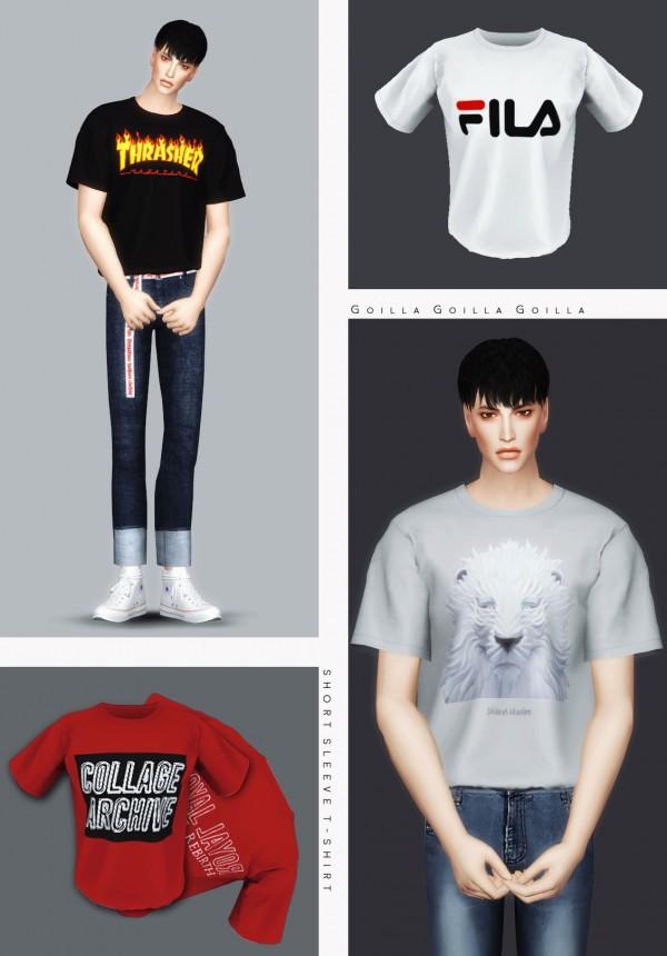 Gorilla: Short Sleeve T Shirt