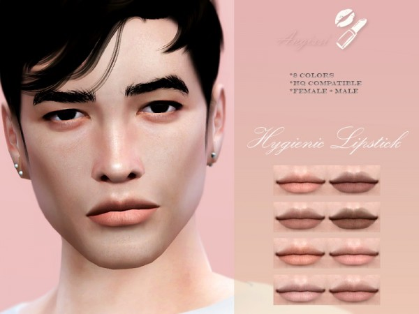 The Sims Resource: Lipstick Hygienic by ANGISSI