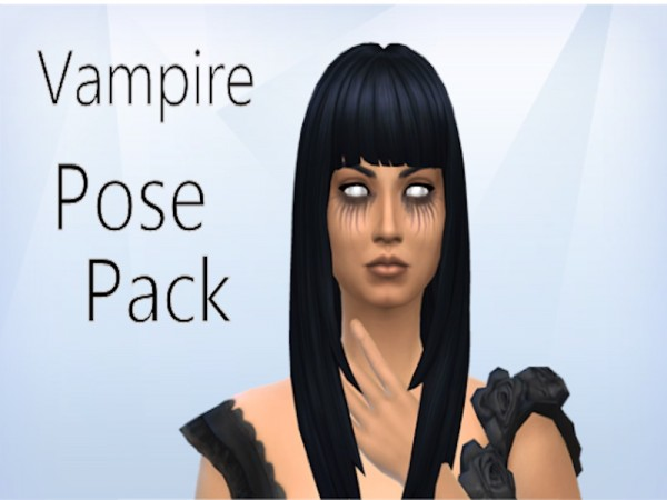 Mod The Sims: Vampire Poses for The Gallery by Kialauna