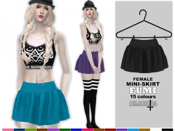 The Sims Resource: FUMI   Mini Skirt by Helsoseira