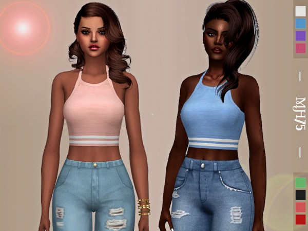 The Sims Resource: Energize Tops by Margeh 75