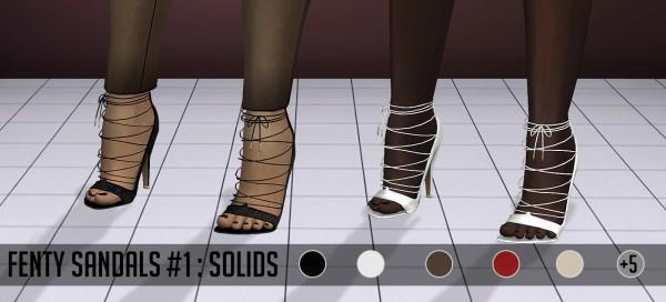 Vittler: Fenty Sandals 1