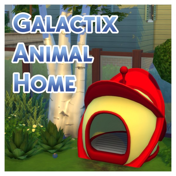 Mod The Sims: Galactix Animal Home by Menaceman44