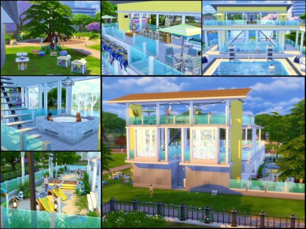 The Sims Resource: Splash house by sparky
