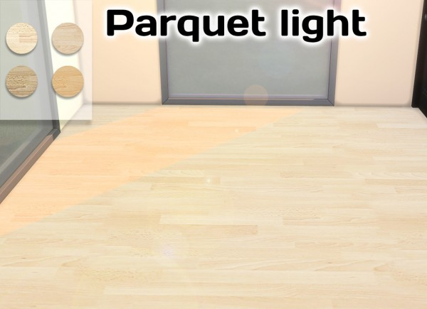 Simming With Mary: Parquet Dark and Light