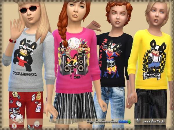 The Sims Resource: Sweater Bulldog by bukovka