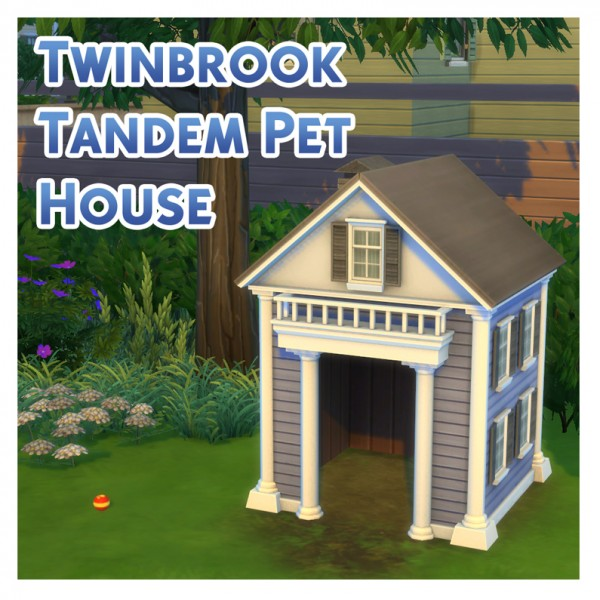 Mod The Sims: The Twinbrook Tandem Pet House by Menaceman44
